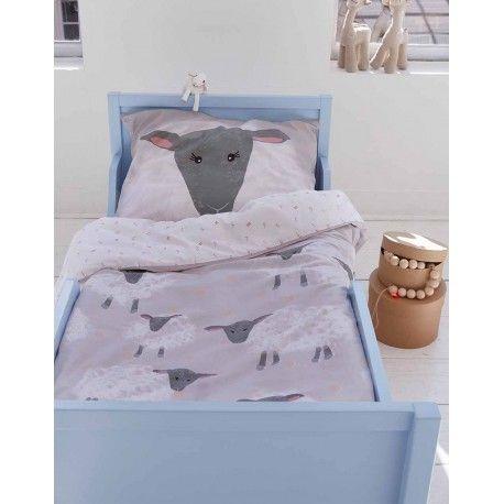 Sheeps junior sengetøj - Grå