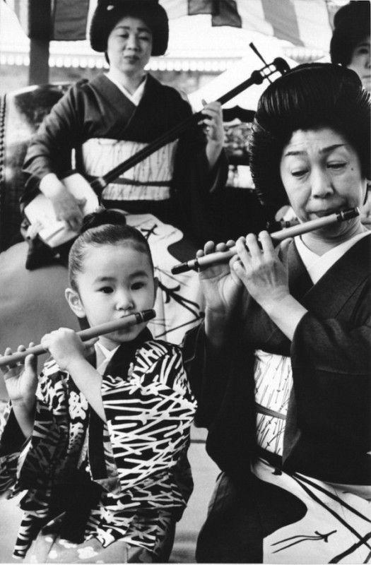 '70 music school, by Mario De Biasi