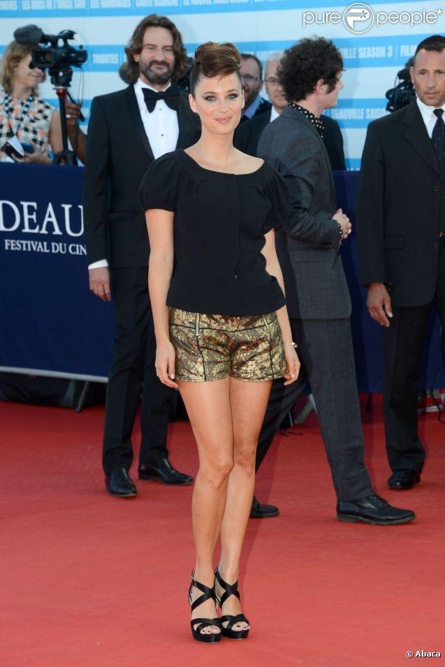 Mélanie Bernieren Heimstone lors du final du Festival de Deauville le 8 septembre 2012