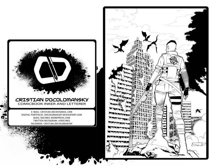 Portfolio Cristian Docolomansky - Inker-Letterer O by Docolomansky