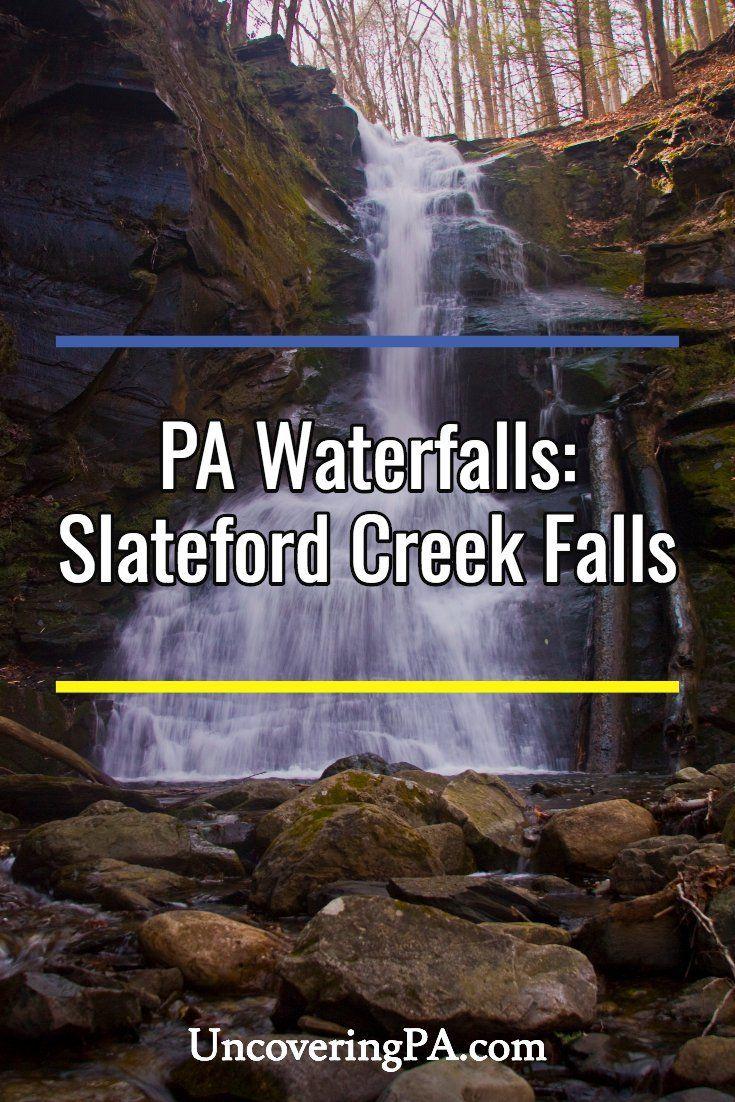 PA Waterfalls Visiting the Waterfalls of Slateford