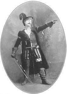 Drew in the role of Petruchio. John Drew, Jr. (November 13, 1853–July 9, 1927) was an American stage actor noted for his roles in Shakespearean comedy, society drama, and light comedies. He was the eldest son of John Drew, who had given up a blossoming career in whaling for acting, and Louisa Lane Drew, and the brother of Louisa Drew, Georgiana Drew & Sidney Drew.