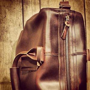 Nixon Aft Weekender Bag Horween Leather