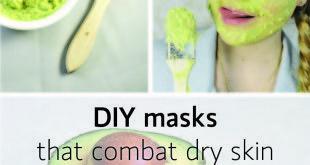 diy avocado mask dry