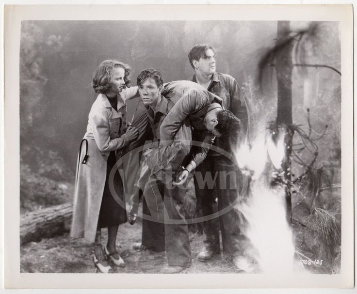 BLAZING BARRIERS FIREFIGHTING MOVIE ACTORS VINTAGE MOVIE STILL PHOTOGRAPH