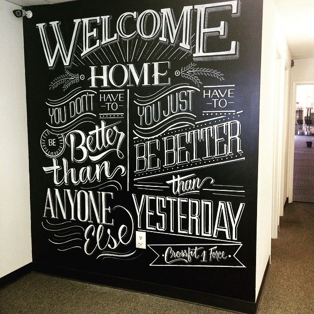 25 best ideas about wall lettering on pinterest nursery for Mural lettering