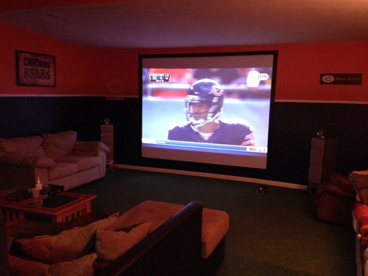 Man Cave With Projector : Best images about man cave on pinterest caves the