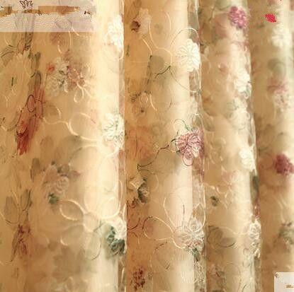 Goedkope De gordijn van moderne Europese stijl Koreaanse tuin slaapkamer woonkamer vloer erker gordijnen shading garen, koop Kwaliteit gordijnen rechtstreeks van Leveranciers van China: 1-64product optielijstbeste koper:1. de gordijn is op 3 m breedte, 2.6 m hoogte (1.5 m x 2.6 m x 2 stuks), voor de stan