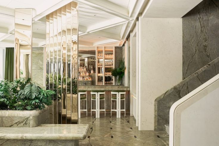 "Restaurant ""Le Jardinier"" in New York"