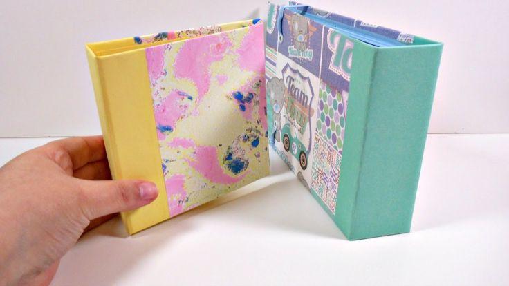 TUTORIAL: Cómo forrar tapas para albumes #2 | Tapas tipo libro | Mundo@P...
