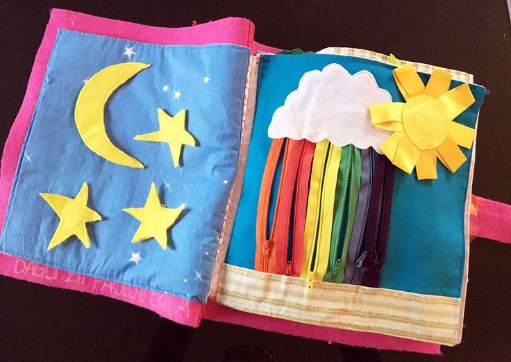 Libri tattili e sensoriali fai da te | L'angoli dei Libri - Kids