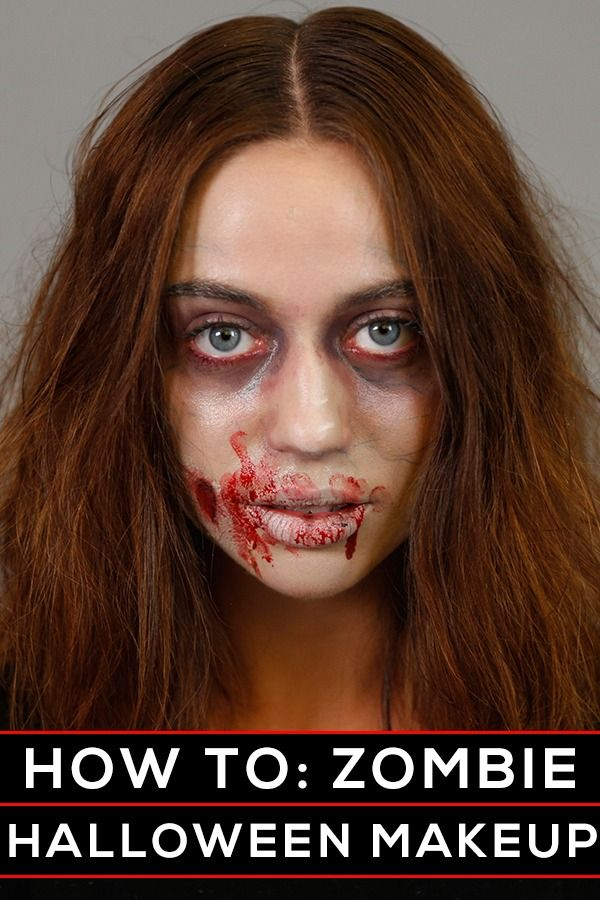 Best 25 halloween makeup ideas on pinterest costume ideas the only zombie halloween makeup tutorial you need to watch solutioingenieria Images