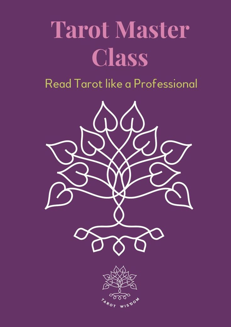 Learn how to Read Tarot like a professional Tarot Reader with this 15-Module Tarot Course