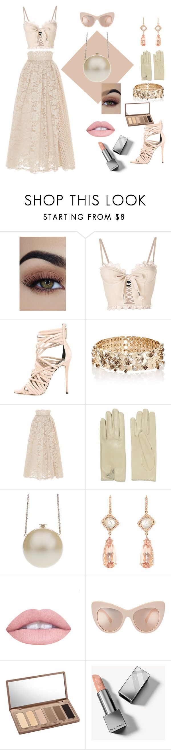 """""""Late afternoon Wedding date"""" by stylemyride ❤ liked on Polyvore featuring Puma, Giuseppe Zanotti, Lanvin, LUISA BECCARIA, Causse, Chanel, NSR Nina Runsdorf, L.A. Girl, Urban Decay and Burberry"""