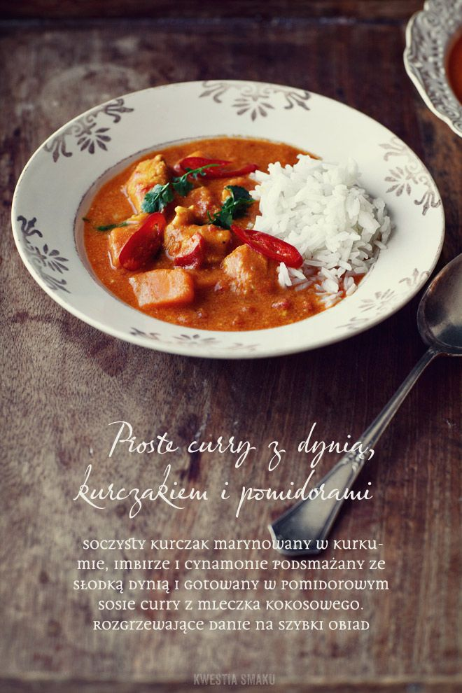 Chicken & pumpkin curry for the guests tomorrow :-)