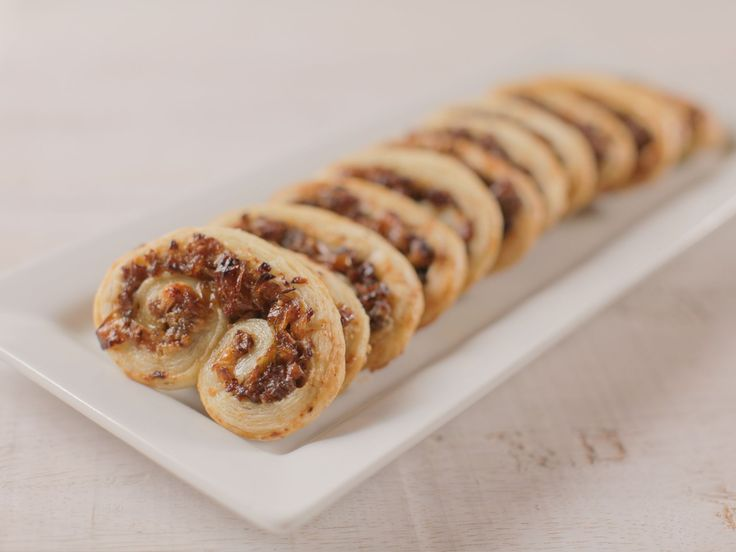 Sausage Parmesan Palmiers recipe from Ree Drummond via Food Network