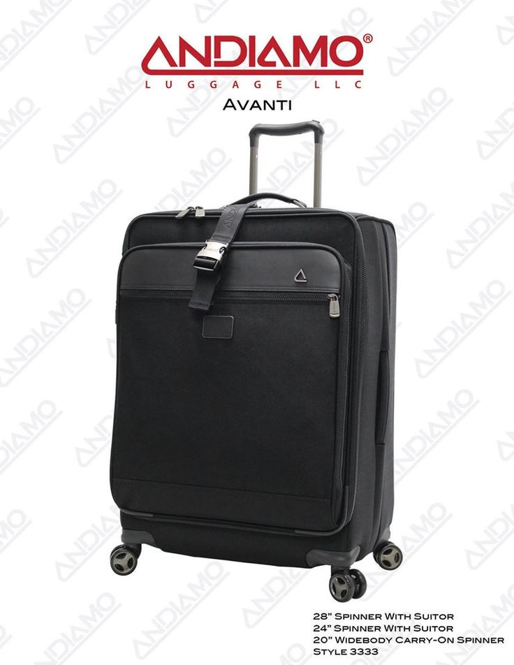 18 best Andiamo Avanti Luggage Collection images on Pinterest ...