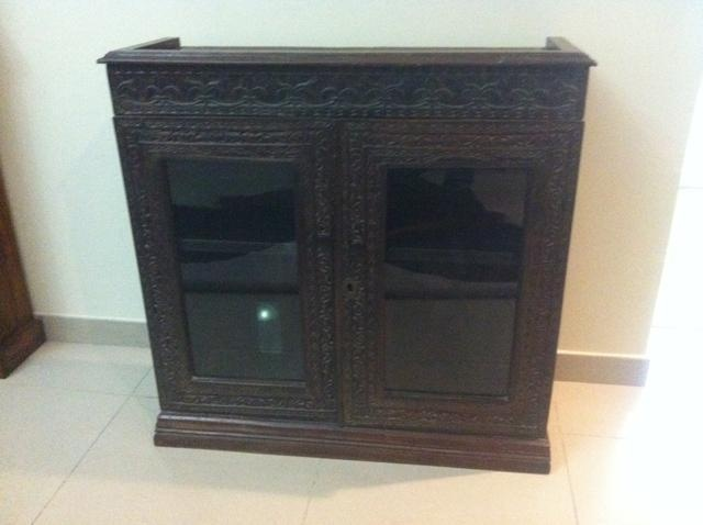 $700 AED  Antique display / tv cabinet