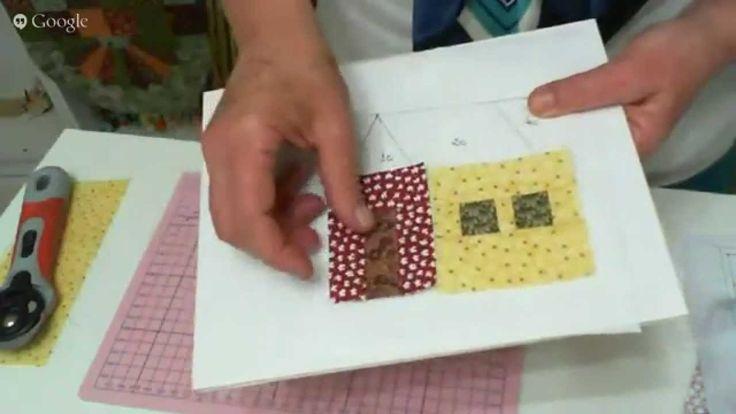 Patchwork Ao Vivo #23: Foundation Paper Piecing com Freezer Paper