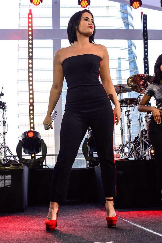 Demi Lovato at her Vevo concert in São Paulo, Brazil - October 20th