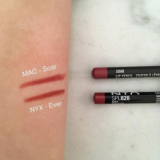 Dupe for MAC Soar - NYX Ever.