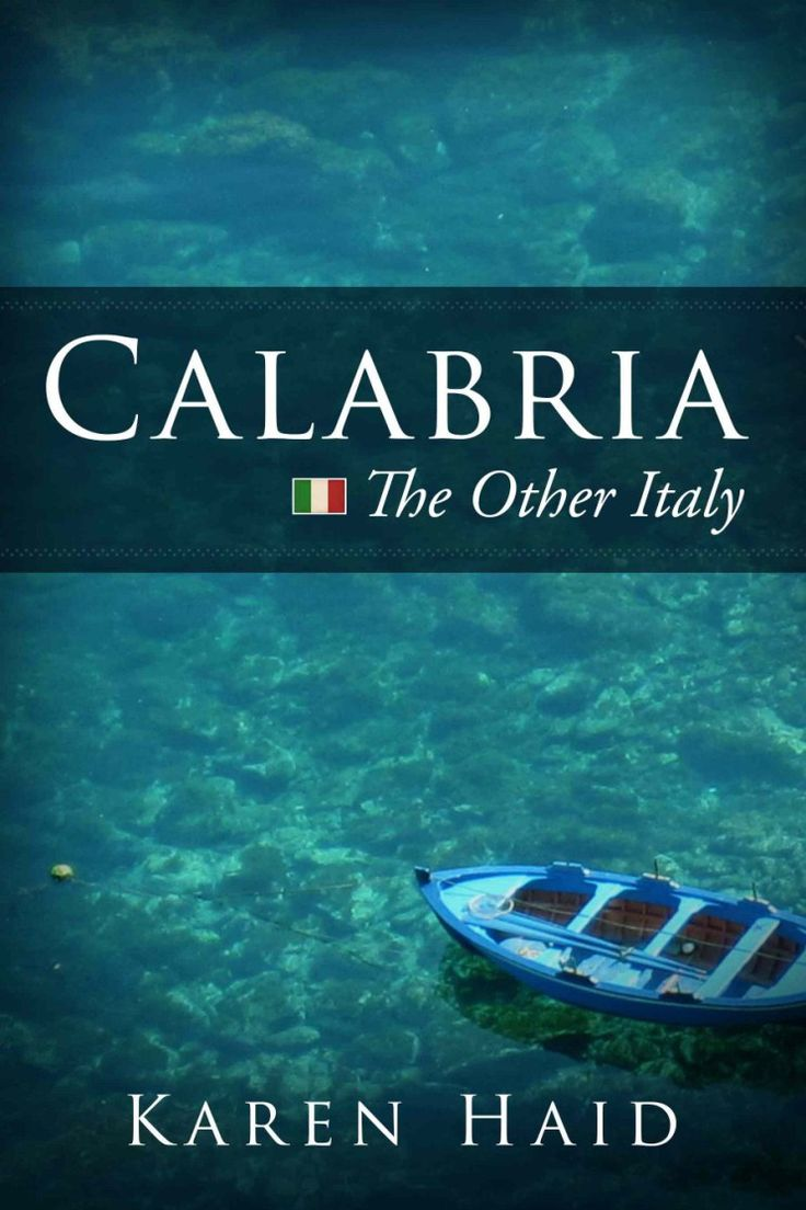 Calabria Italy - Great Book