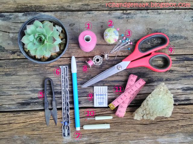 RC Handgemaak: Basic Sewing Series - Lesson #2