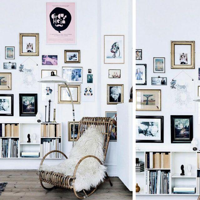 anegART: Ramki na ścianie- jak je rozmieścić