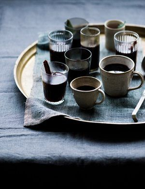 'Soothing chocolate for gentle evenings at home, warm spiced almond milk for when I feel a little under the weather, and two festive favourites.'