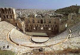 Teatro di Dioniso è situato presso l'acropoli di Atene. Fu il teatro più importante del mondo greco nel V e IV secolo a.C. e venne utilizzato dai più importanti autori greci (Eschilo, Sofocle ed Euripide per la tragedia, Aristofane e Menandro per la commedia) per mettere in scena le loro opere.[1] Venne costruito agli inizi del V secolo a.C. a ridosso del santuario di Dioniso. Accanto all'ingresso sorgeva l'Odeo di Pericle
