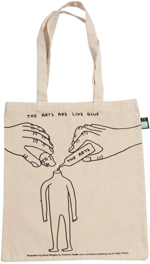 Plinth David Shrigley Creative Health Tote Bag - The Arts