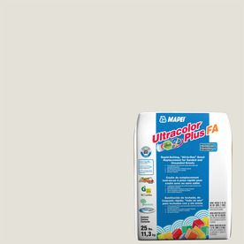 Mapei Ultracolor Plus Fa 25-Lb White Sanded/Unsanded Powder Grout 6Bu0