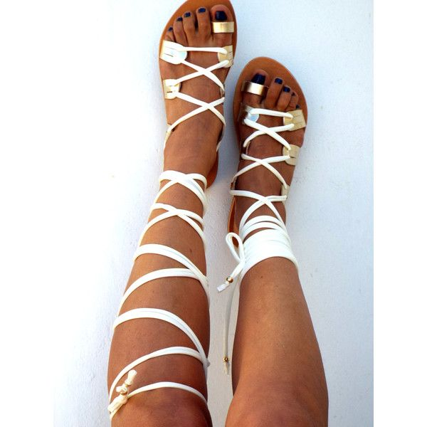 A must have for the summer!! The classic design of these lace up sandals are easily matched with any outfit, and perfect for every occasion, from the