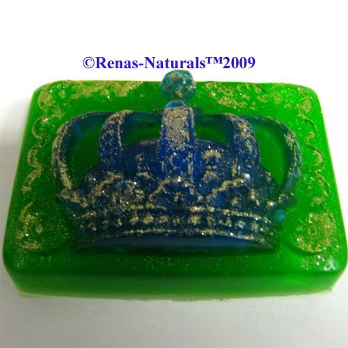 This soaps gives an elegant accents, not just  for Asian themed bathrooms and just plain fun for those who love fairytales. With a gentle typical smell.   Crown 6.50 Euro