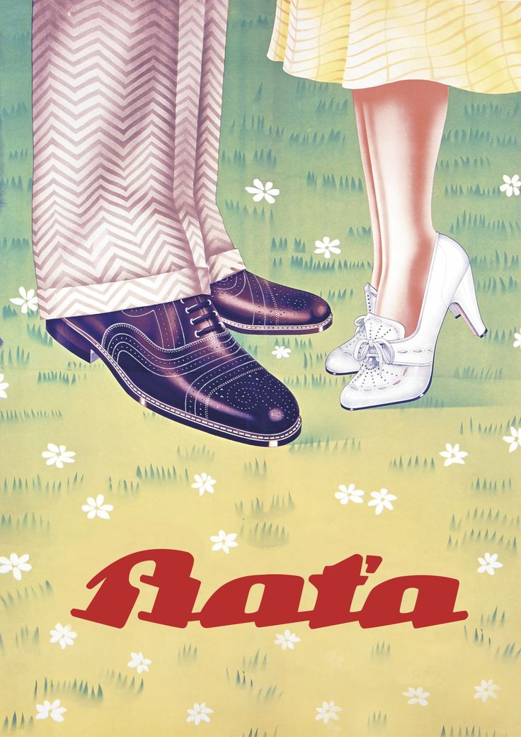 Bata, Czech Republic, undated #batashoes #bata120years #advertising