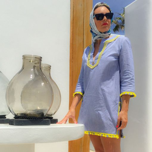 """Kaftan dress """"Paros"""" $85€"""