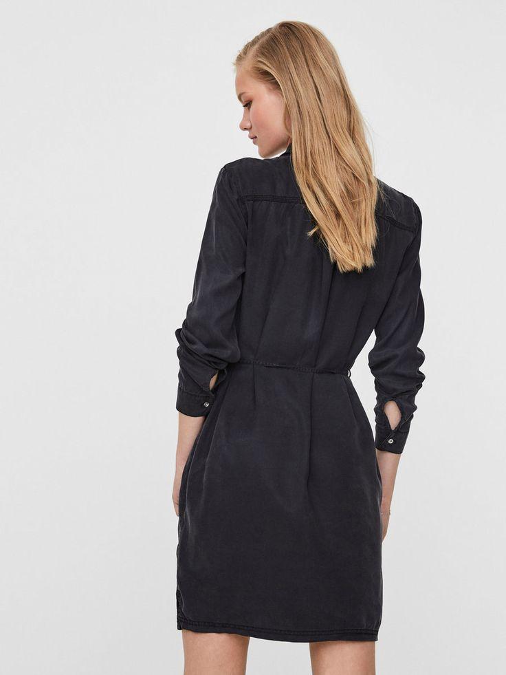 Rento pitkähihainen mekko | VERO MODA