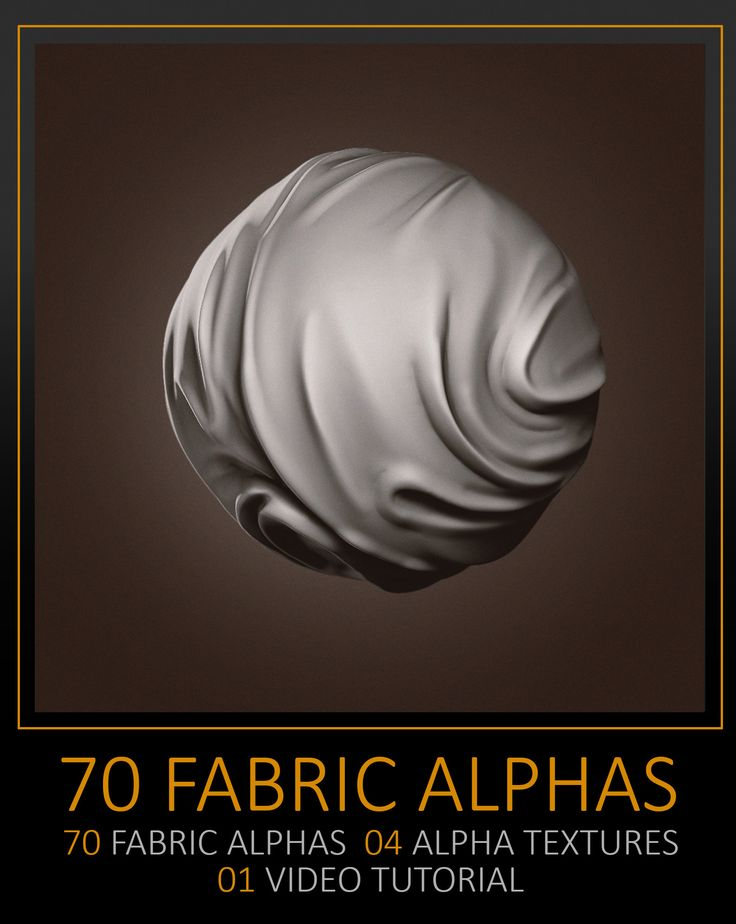 ArtStation - 70 Facric Alphas, texture and tutorial, Celito Moura Filho