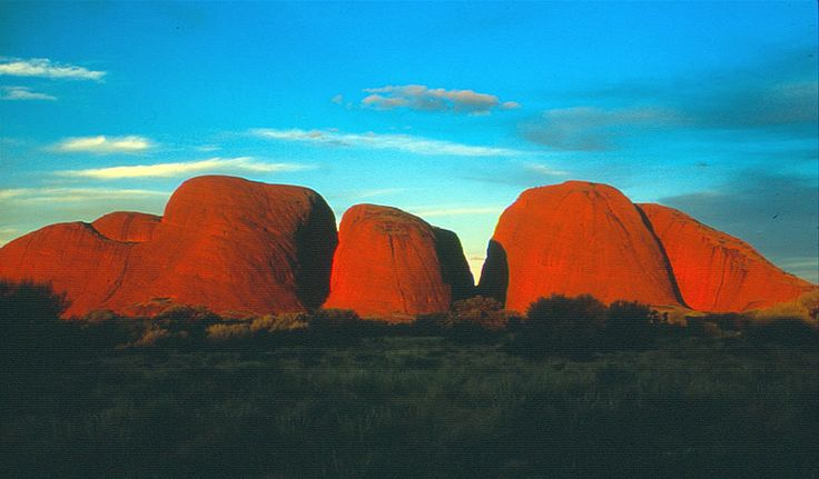 7.4 km hike through the Valley of the Winds at Kata Tjuta (The Olgas) in Australia