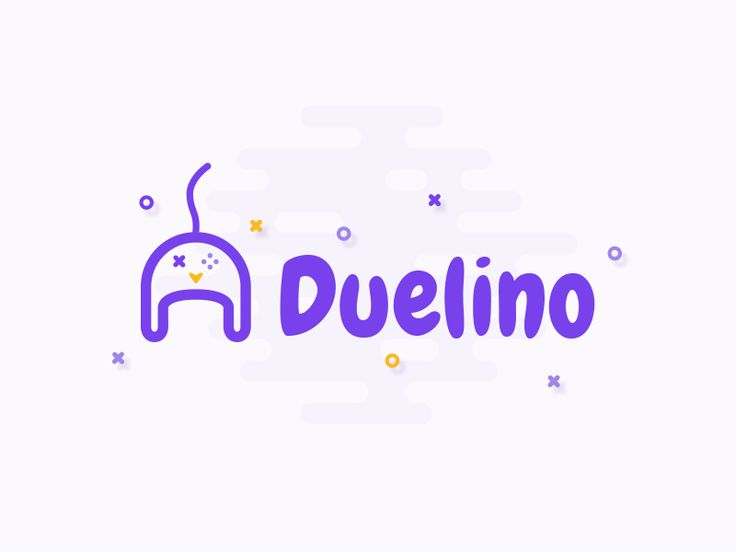 Duelino // #webapplication #duel #game #quiz #webdesign #logo #digital #vector #logotype #illustration #app #design #inspiration ... /   🙋🏼💜🤓