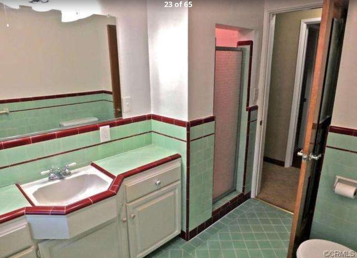 Badezimmer, Vintage Stil