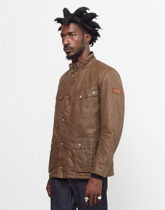 Barbour International Duke Wax Jacket Brown #StyleMadeEasy