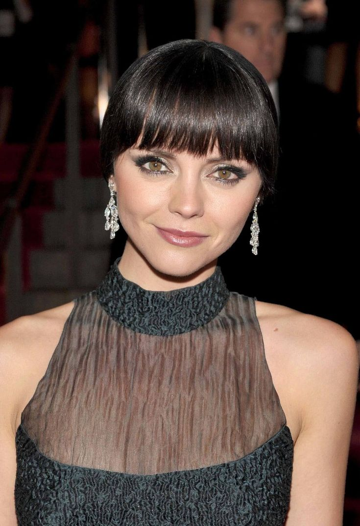 Celebrities who rocked a blunt fringe brilliantly
