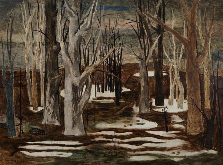 End of Winter, 1950. Stanley Morel Cosgrove