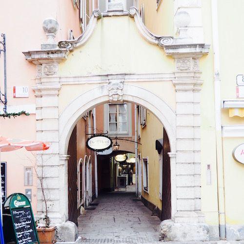 Durchgang in Graz, Österreich