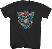 Foo Fighters Concert T-shirt - Foo Fighters 20th Anniversary July 4, 2015 at RFK Stadium, Washington, D.C. Show. Men's Black Shirt