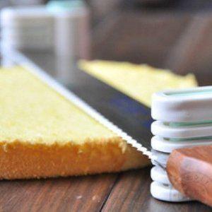 Goedkope taarten snijder  Meshouder voor het snijden van rechte laagjes taart of cake. Bak jij ook graag taarten die je later in laagjeswilt snijden? Met deze goedkope taarten snijder, kun je eenvoud