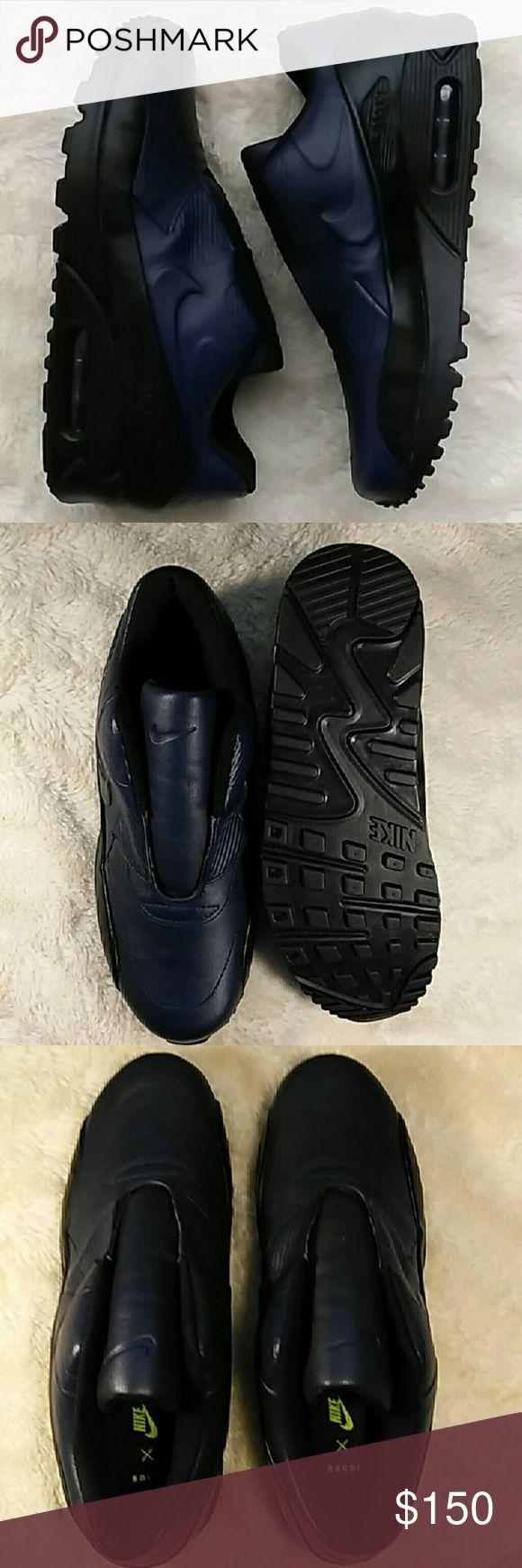 "Nike Air Max 90 ""nikelab"" Sp/sacai Obsidian/black Brand new Nike Air Max 90 ""nikelab"" Sp/sacai Obsidian/black with not original box. Nike Shoes Sneakers"