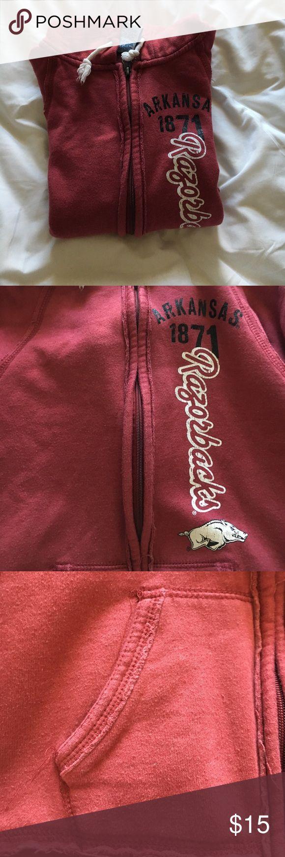 Arkansas University Jacket Women's NCAA Arkansas University jacket. NCAA Jackets & Coats