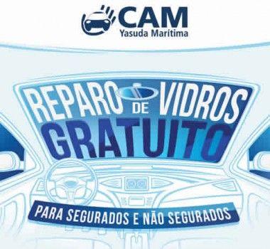 YASUDA MARÍTIMA SEGUROS e Carglass promovem semana de reparo de vidros gratuita